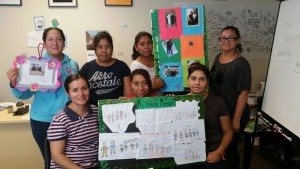 As a final project, students created a visual for their family tree presentation. This project was very meaningful to the students because their entire family was involved in the creation of their visuals.