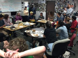The annual KALW Audio Academy potluck dinner brought great food, great story ideas, and great people together.